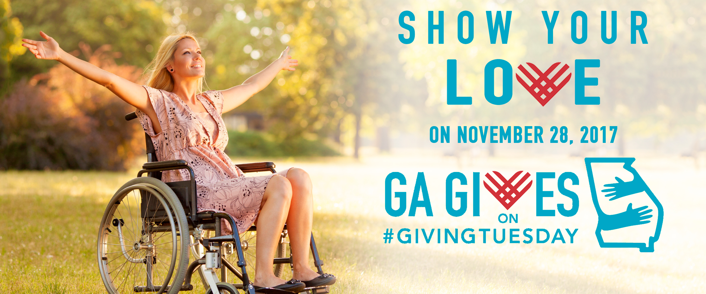 Show your love Ga gives