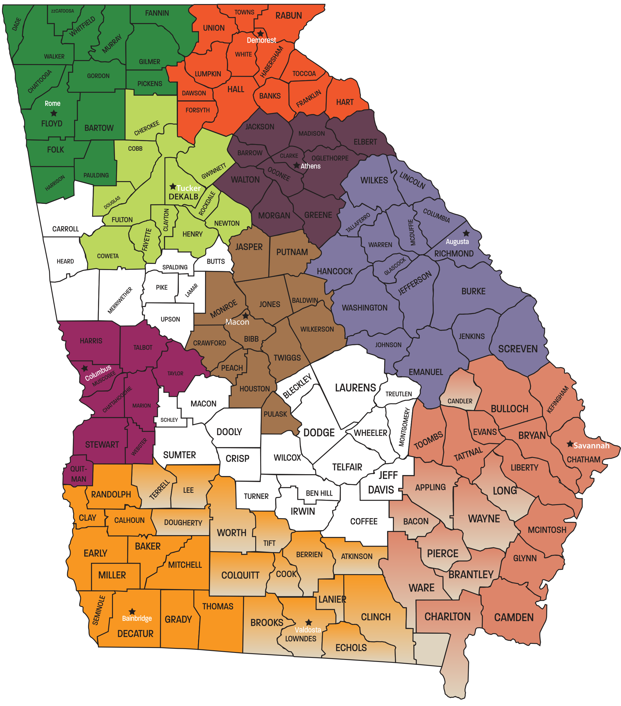 Find Your Center for Independent Living in Georgia